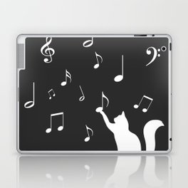 Cat music Laptop & iPad Skin