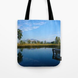 reflection of soul Tote Bag