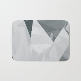 Ice cracks #1 Bath Mat