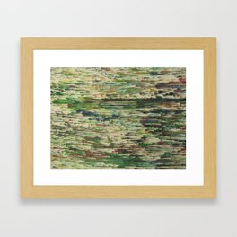 Comet Feild Framed Art Print