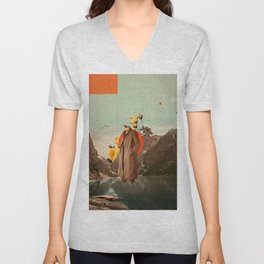 You Will Find Me There Unisex V-Neck