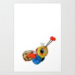 Vintage toys Art Print