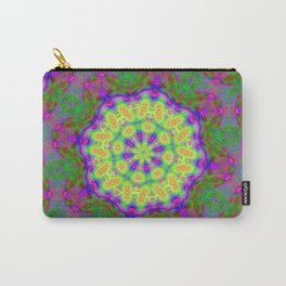 Dreamy Double Neon Kaleidoscope Carry-All Pouch