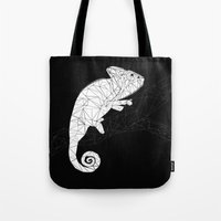 chameleon Tote Bags featuring CHAMELEON by ARCHIGRAF