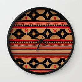 """The Repeat - """"Boho"""" Wall Clock"""