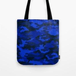 CAMO Deep Blue Tote Bag