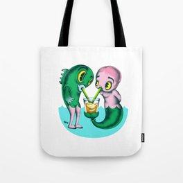 Humans & Fishies Tote Bag
