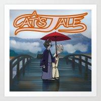 Cats tale promo Art Print