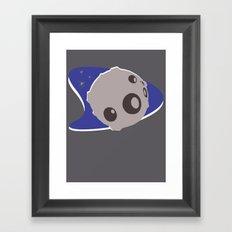 Moon Girl Logo Framed Art Print