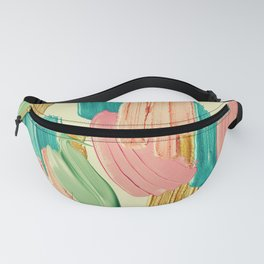 Ice Cream Camouflage Fanny Pack