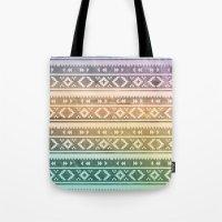navajo Tote Bags featuring Navajo by Sarah Slegh