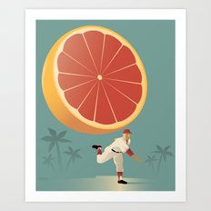 Grapefruit League Art Print