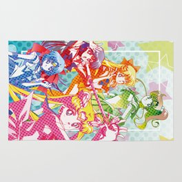 Sailor Senshi Dots Version Rug