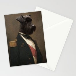 Sir Schnauzer the Magnificent Stationery Cards