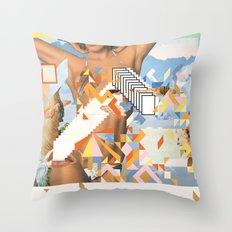 CAT / CRUSH / GIRL Throw Pillow