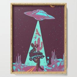 DESERT UFO Serving Tray