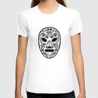 wrestling T-shirts featuring Mexican Wrestling Mask by T-SIR   Oscar Postigo