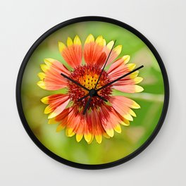 Bright Beauty Wall Clock