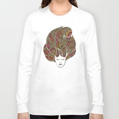 Dreaming with flowers Long Sleeve T-shirt