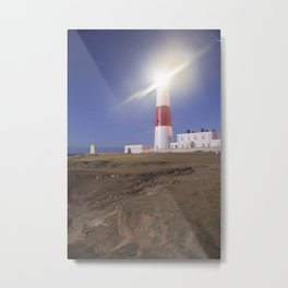 Lighthouse in Portland Bill Metal Print