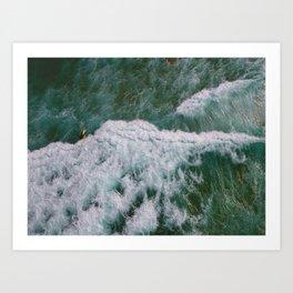 Surf Photography, Beach Wall Art Print, Ocean Water Surfing, Coastal Decor Art Print