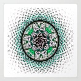Mystery Cyrcle Art Print