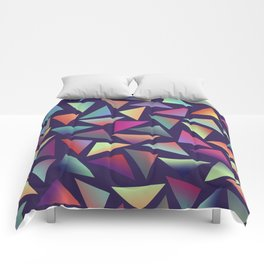 Geometric Pattern III Comforters