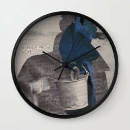 What does the world look like without anxiety and fear? Wall Clock