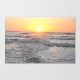 Sunrise after the storm Canvas Print
