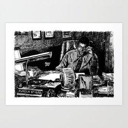 Furious Styles, Boyz In The Hood, Laurence Fishburne Art Print