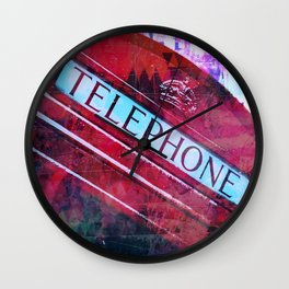 telephone Wall Clock