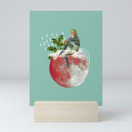 Santa Baby Mini Art Print