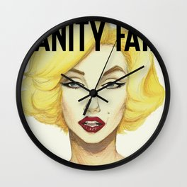 Marilyn Monroe for Vanity Fair  Wall Clock