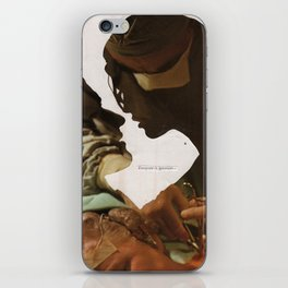 how do i stop feeling worthless for being scared of sex iPhone Skin