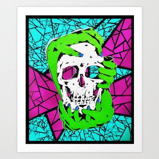 Death Grip #2 Art Print