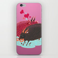 Love Beasts iPhone & iPod Skin