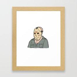 Jason Voorhees part 3 Framed Art Print