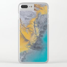 From above #photography #society6 Clear iPhone Case