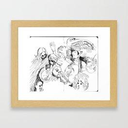 spectral Framed Art Print