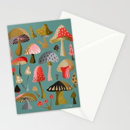 Mushroom Collection – Mint Stationery Cards