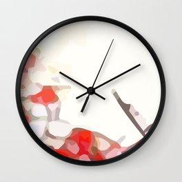 Crackle #7 Wall Clock