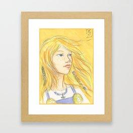 Solveig Framed Art Print