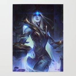 Cosmic Queen Ashe League Of Legends Poster