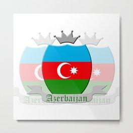 Azerbaijan Metal Print