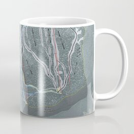 Eldora Resort Trail Map Coffee Mug