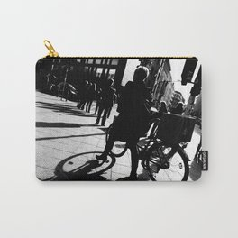 Berlin's streets in black and white 2 Carry-All Pouch