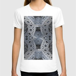 Fractal Art - spaceship drive T-shirt
