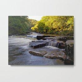 River Dart Cascades Metal Print