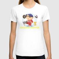 racing T-shirts featuring Racing Driver by Alapapaju