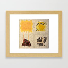 Gimme Your Lunch Money Framed Art Print